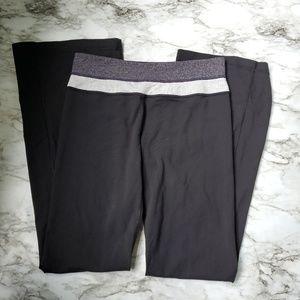 EUC Lululemon Reversible Groove  yoga pants Size 6